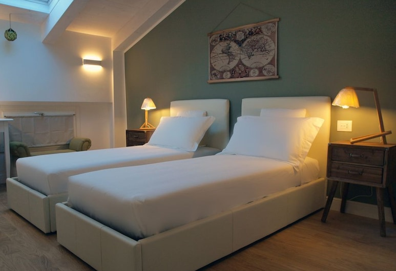 Acquaderni Rooms, Bologna, Twin Room, 2 Twin Beds, Guest Room