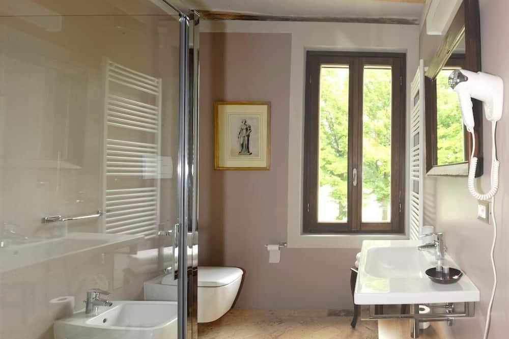 Habitación doble Deluxe (Extra Bed) - Baño