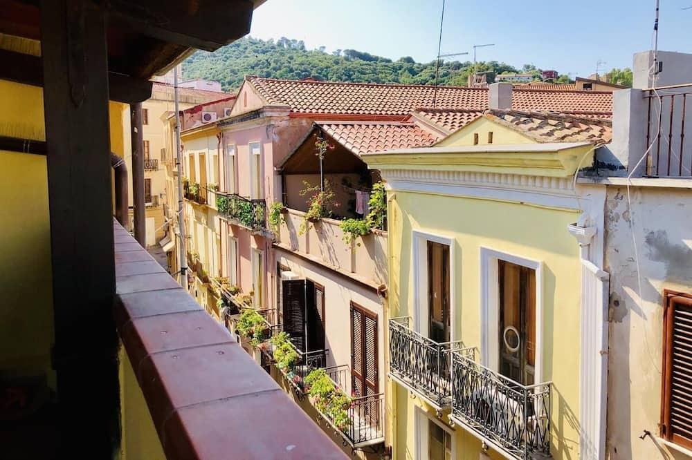 חדר משפחתי, מרפסת (Bugerru) - נוף מהמרפסת