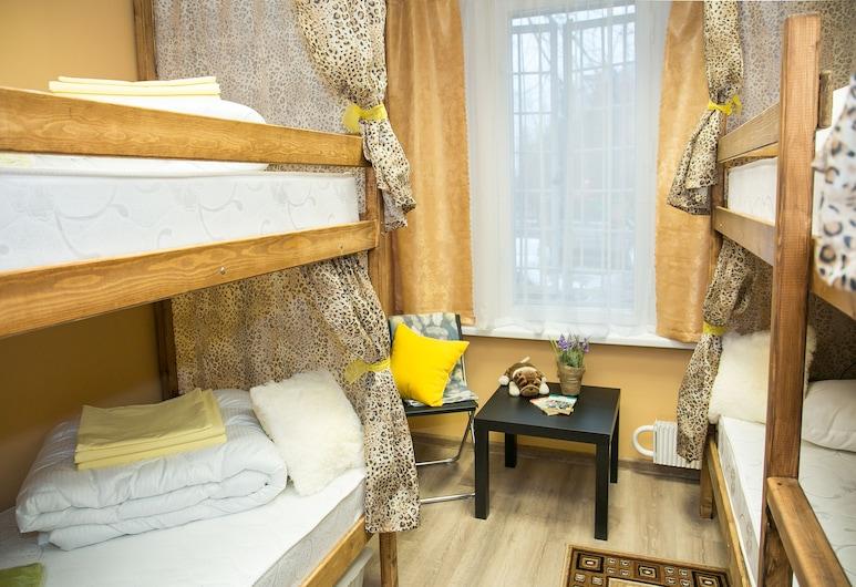 Lenin Hostel, Moskva, Economy zajednička spavaonica, samo za žene (Bed in 6-beds dormitory), Soba za goste
