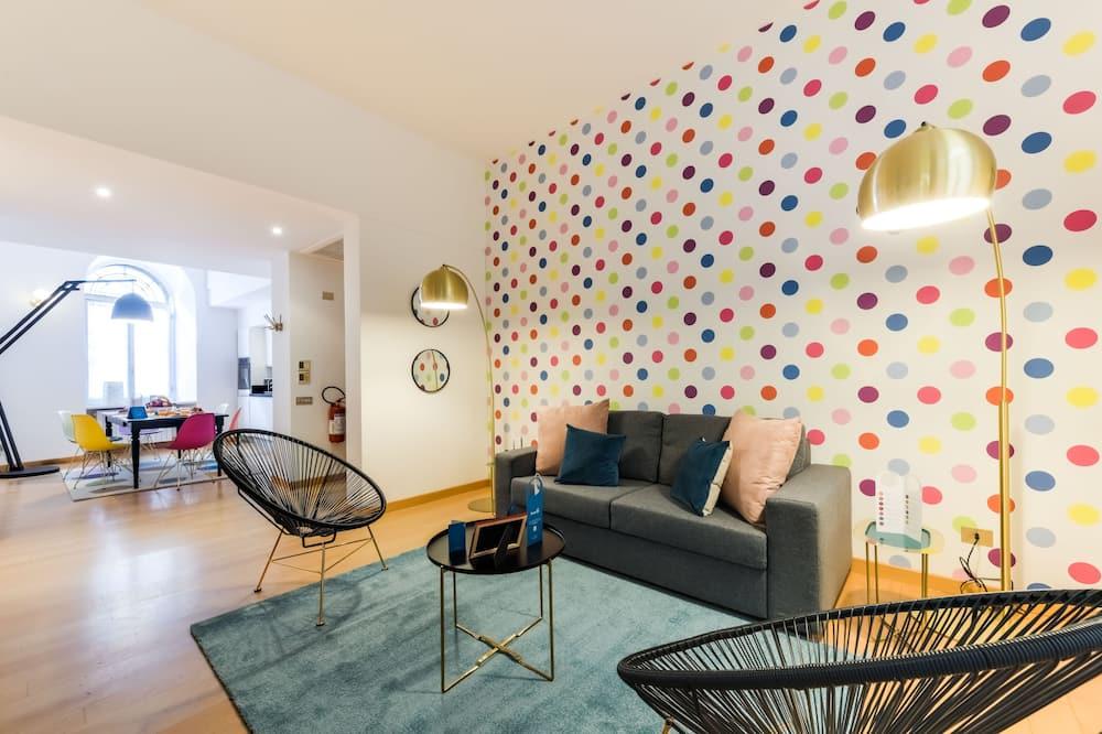 Apartmán typu Comfort, 2 ložnice - Obývací pokoj