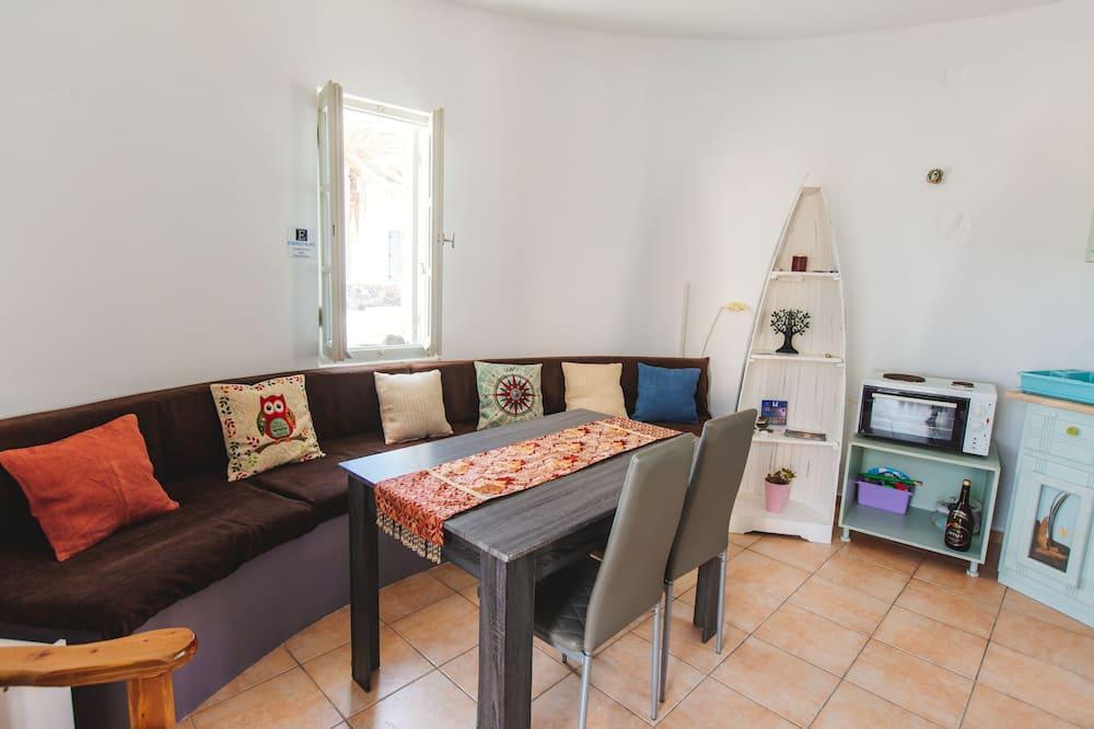 Dom Premium, Łóżko podwójne i sofa - Powierzchnia mieszkalna