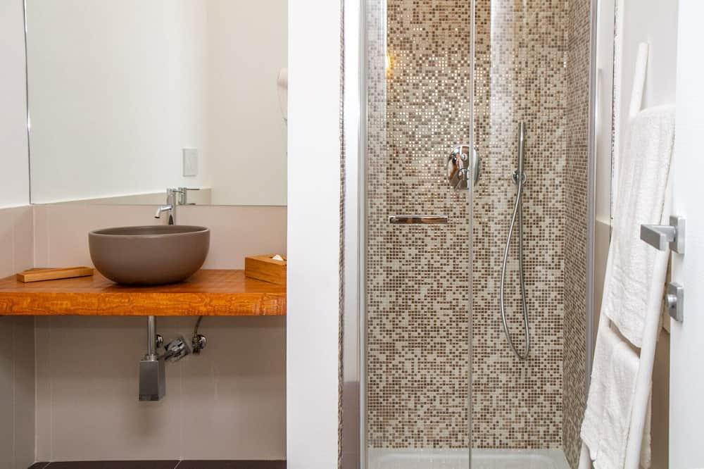 Двухместный номер «Делюкс» с 1 двуспальной кроватью (Carrubo) - Ванная комната