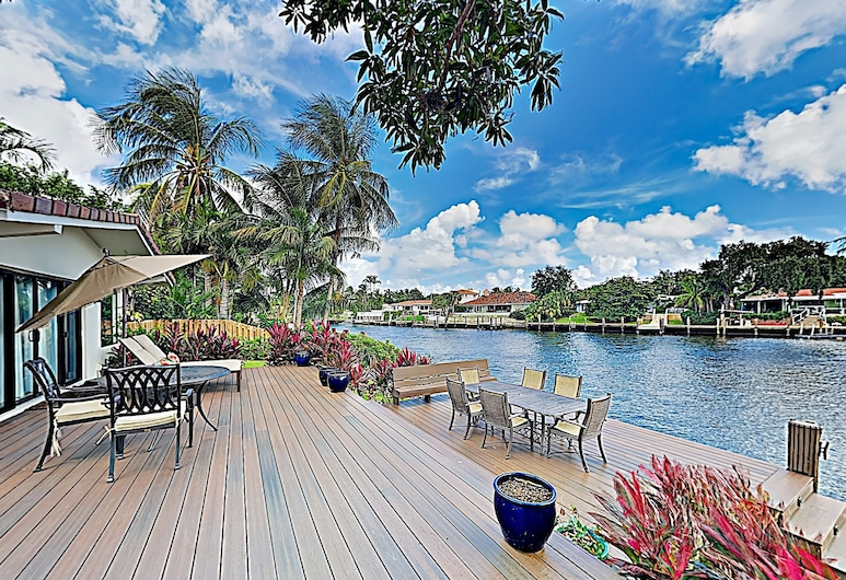 Luxe Waterfront : Pool, Boat Dock, Near Beach 4 Bedroom Home, Fort Lauderdale, Casa, 4 habitaciones