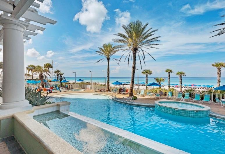 New Listing! Gulf-front Getaway W/ Pools & Hot Tub 2 Bedroom Condo, Panama City Beach, Korter, 3 magamistoaga, Bassein