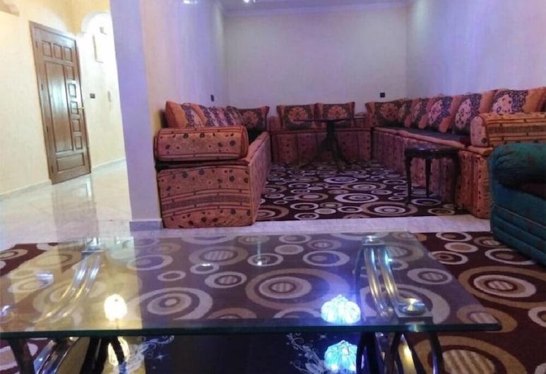 Residence Badr, Dakhla, Grand Apartment, 2 Bedrooms, Ruang Tamu