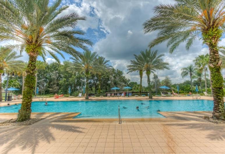 Reunion Resort and Spa 7593, Kissimmee, Apartman, 2 spavaće sobe, Bazen
