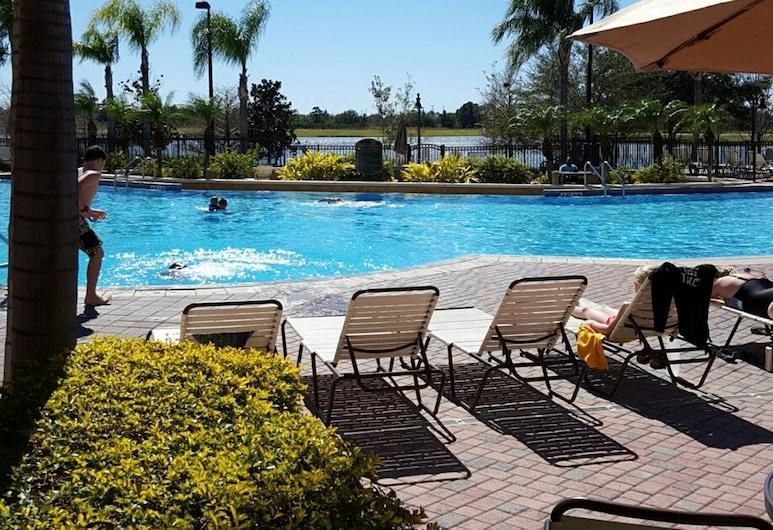 Vista Cay Sunny Villa, Orlando, Zwembad