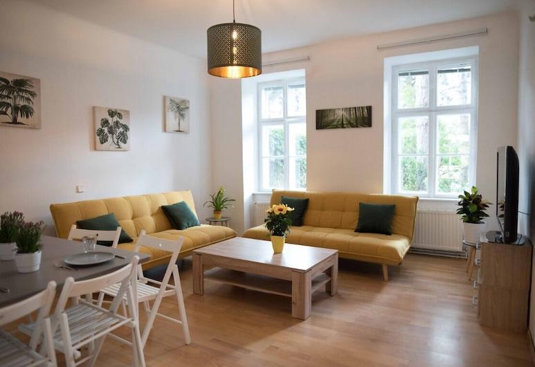 Blueberry Living City Apartment, Viena, Apartamento (Blueberry Living-incl.40EUR cleaning), Sala
