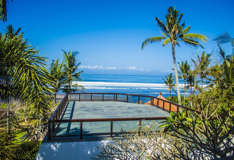 Andaru Villa Tabanan, Kerobokan, Villa familiar, Vista a la playa o el mar