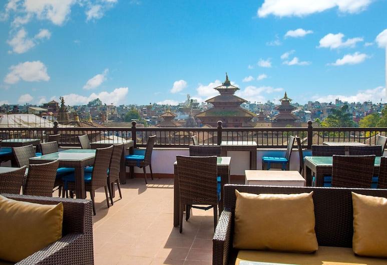 Pahan Chhen - Boutique Hotel, Lalitpur, Terasz/udvar