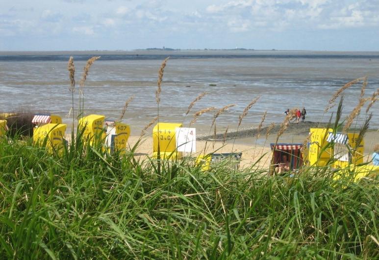 Haus Dünenglück, Cuxhaven, Strand