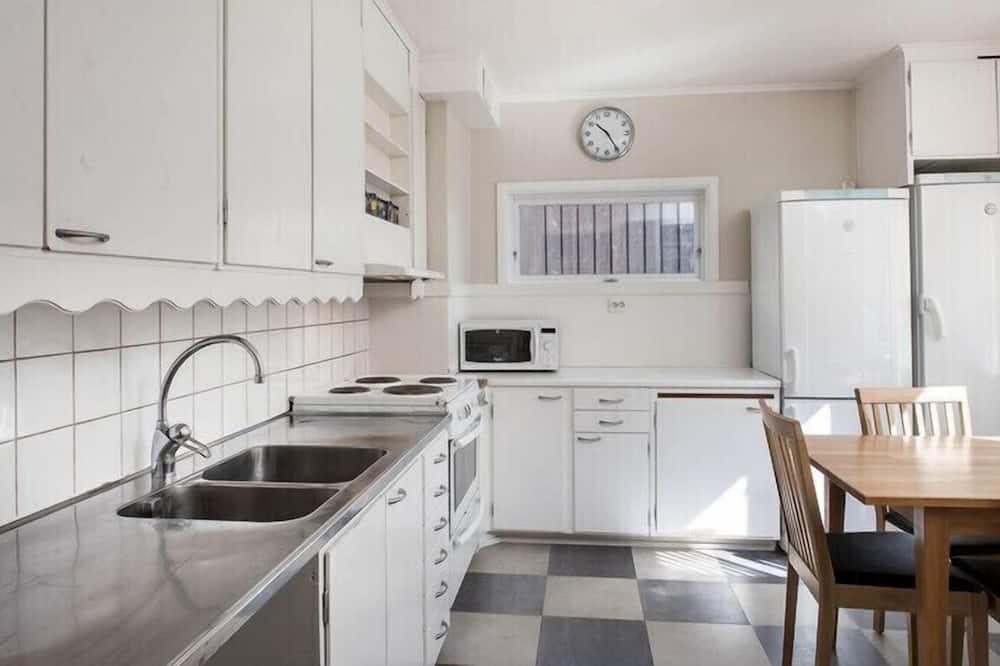Двухместный номер с 1 или 2 кроватями (4) - Общая кухня
