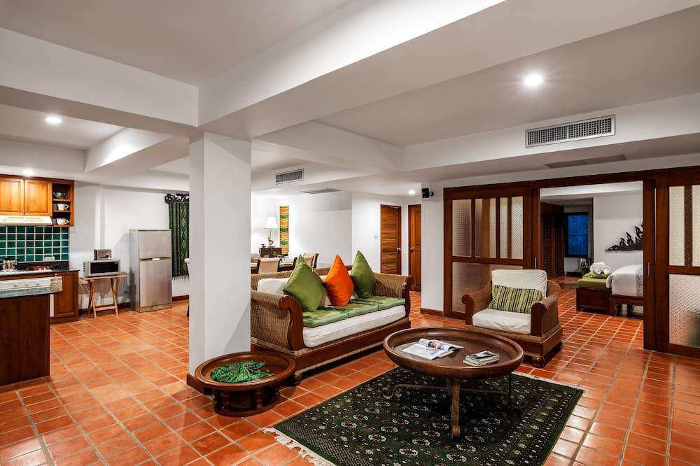 Villa - 2 soveværelser - ikke-ryger - køkken - Stue