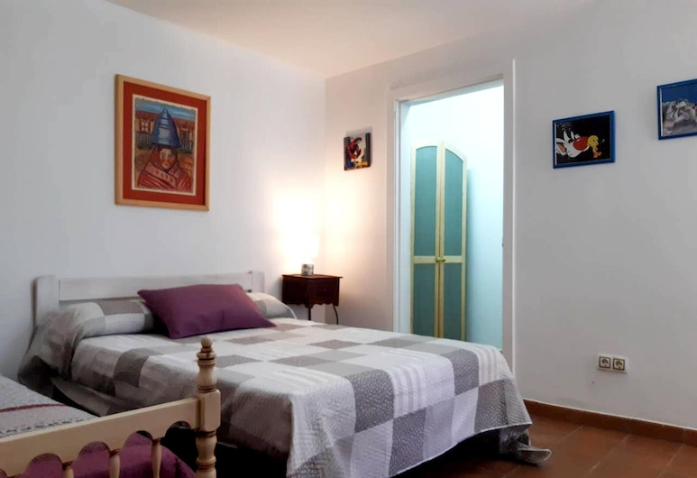 Apartment With 2 Bedrooms in Sanjenjo, With Furnished Terrace - 500 m From the Beach, Sanxenxo, Departamento, Habitación