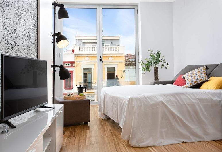 獨特住宿巴塞隆拿海灘 2B 酒店, 巴塞隆拿, 公寓, 1 間臥室, 客廳