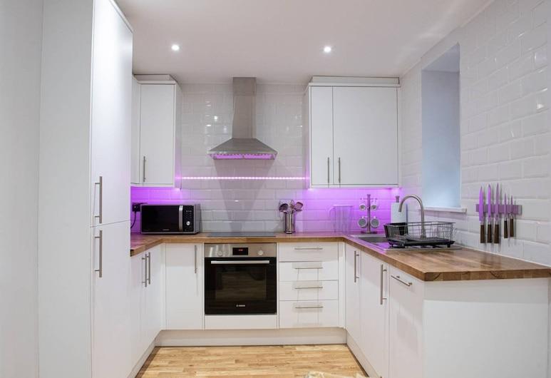 頂級滑鐵盧位置現代 2 房公寓酒店, 倫敦, 公寓 (2 Bedrooms), 私人廚房