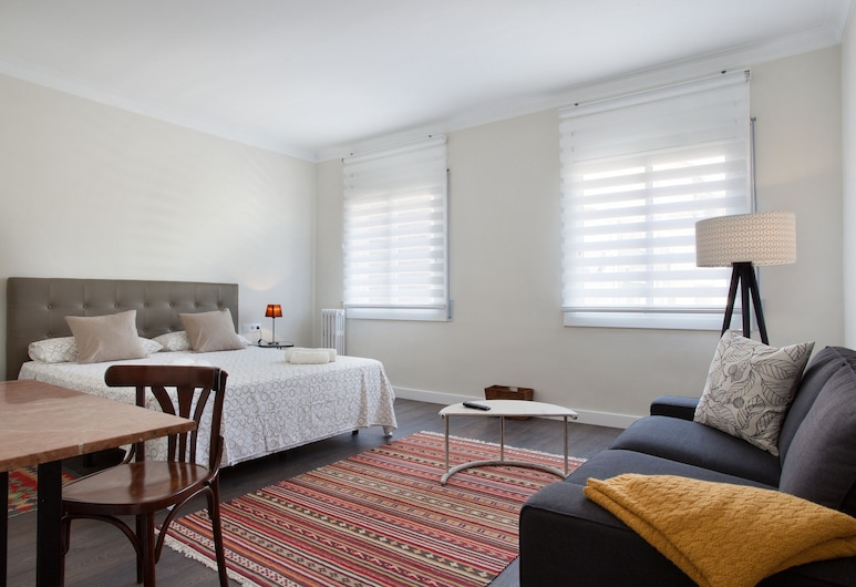 Consell de Cent Apartment, Barcelona, Apartmán, 2 spálne, Izba