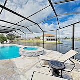 Waterfront W/ Stunning Views, Pool, Boat Dock 4 Bedroom Home