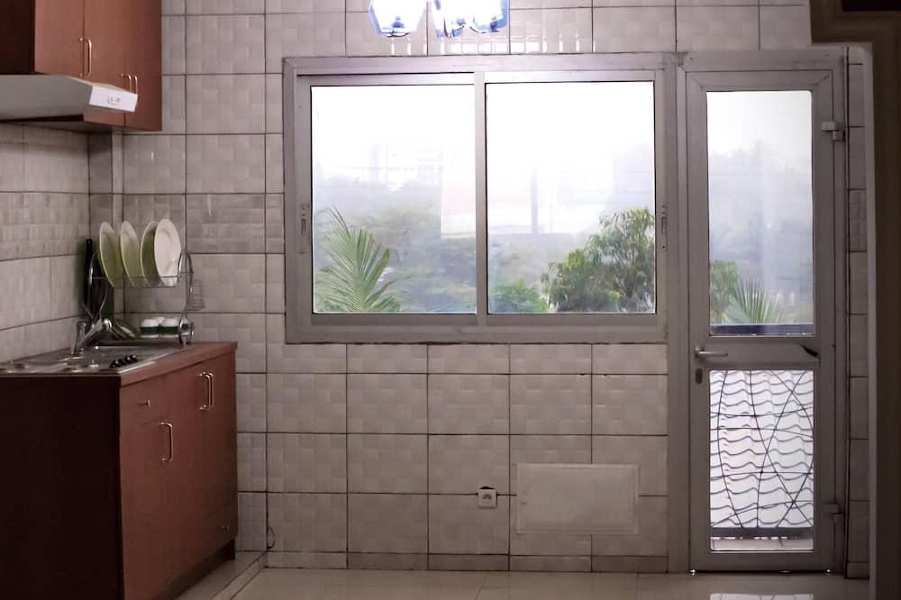 Dvivietis kambarys - Bendra virtuvė