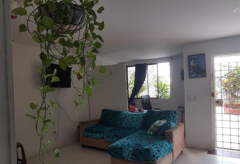 Casa Yeimmis, קרטחנה, חדר אקונומי לארבעה, אזור מגורים