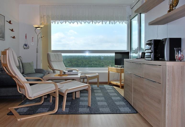 Frische Brise, Куксгафен, Апартаменти, 1 спальня, з балконом (12.02), Вітальня