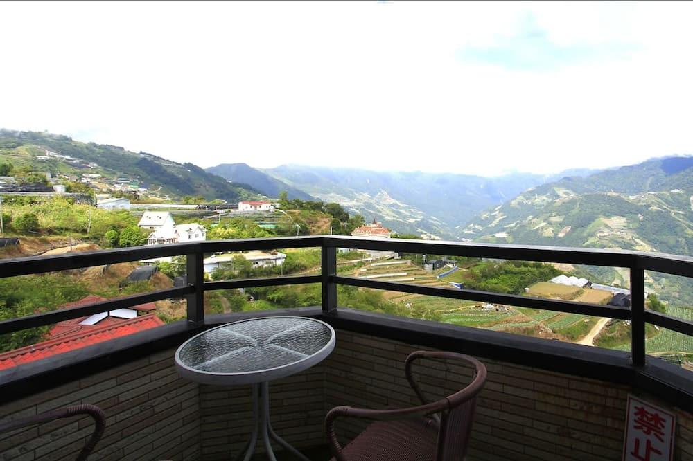 Двомісний номер, з видом на гори - Балкон