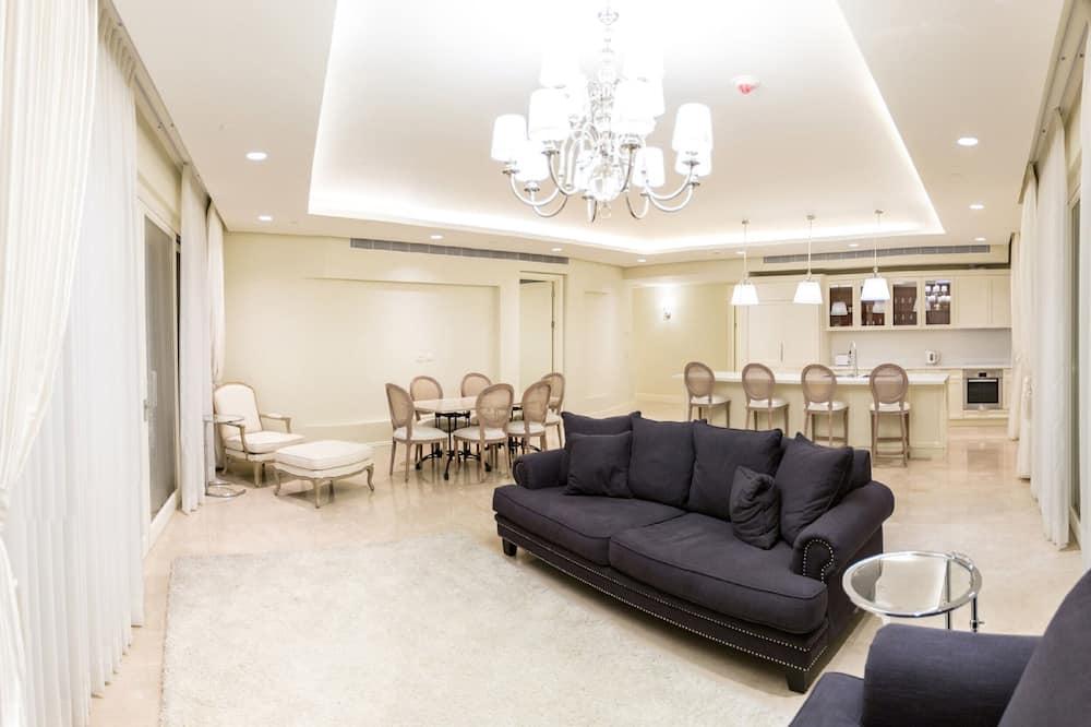 ลักซ์ชัวรี่อพาร์ทเมนท์ - พื้นที่นั่งเล่น