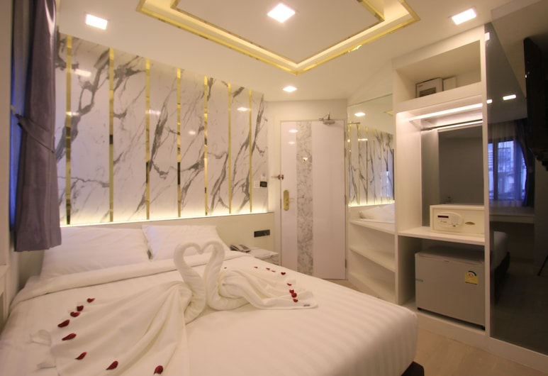 プラトゥーナム アトリウム ホテル, バンコク, デラックス ルーム, 部屋