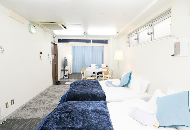 IBASHO Hiroo 7F, Tokyo, Room for 6 Guests, Room