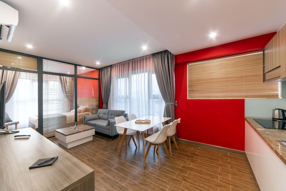 Executive-Dreibettzimmer - Wohnzimmer