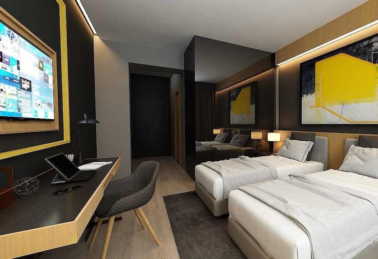 Maccani Black Luxury Suites, Belgrade, Premium Twin Room, Guest Room
