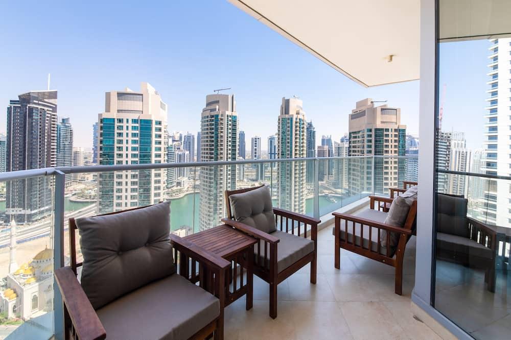 Deluxe-Apartment, 3Schlafzimmer - Balkon