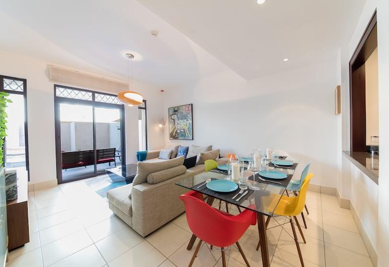 Maison Privee Reehan 2, Dubai, Deluxe apartman, 1 hálószobával, terasz, Nappali