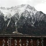 Driepersoonskamer, 2 slaapkamers (Hirsch) - Uitzicht op bergen