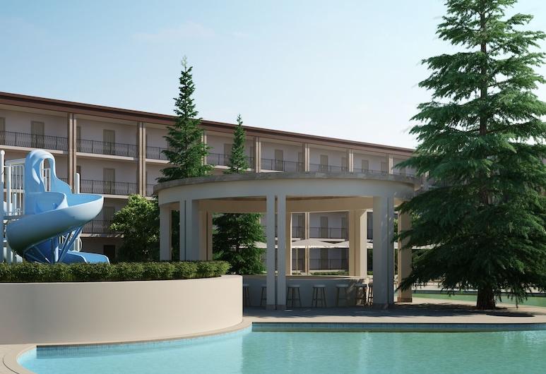 MPM Hotel Azurro - All inclusive, Sunny Beach, Gårdsplass