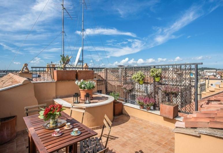 人民廣場屋頂魔法酒店, Rome, 公寓, 2 間臥室, 陽台