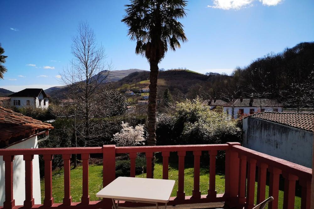 Dvojlôžková izba, výhľad na hory (Louhosso) - Balkón
