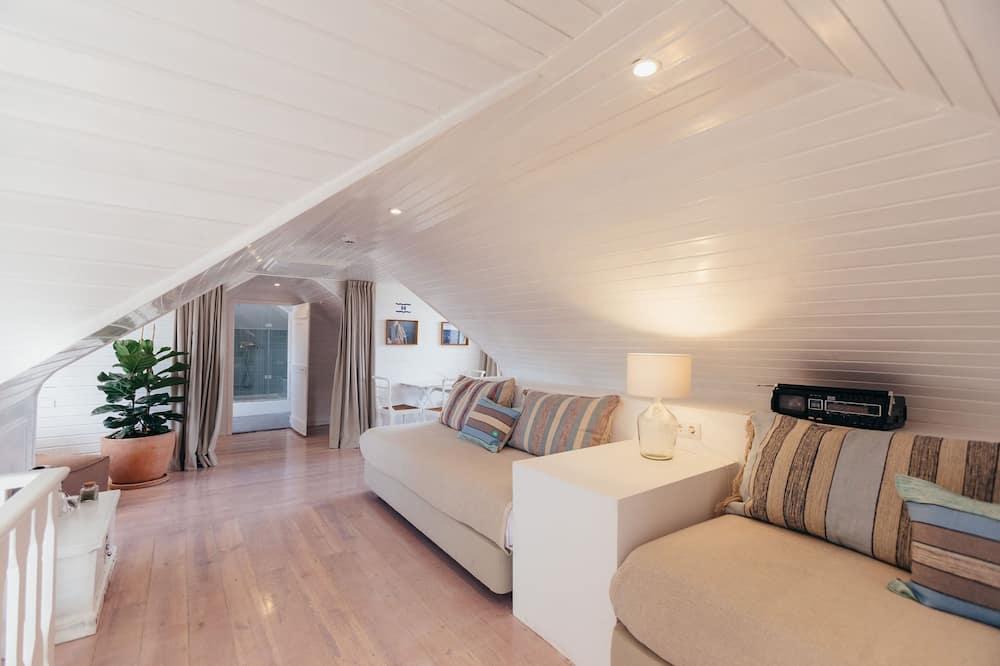 Rodinná štvorposteľová izba (Sailor) - Obývacie priestory