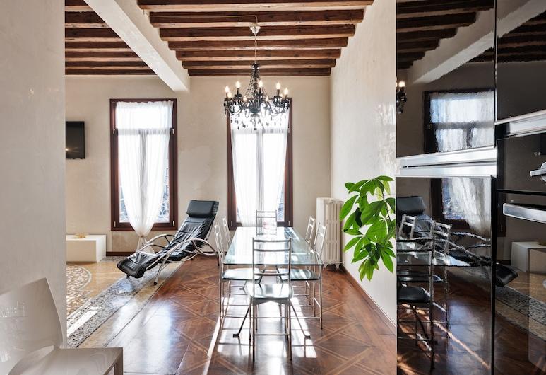 리알토 브리지 로맨틱 하우스, 베네치아, 로맨틱 아파트, 거실 공간