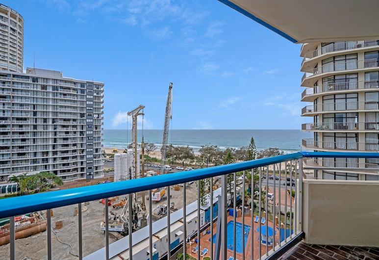 海邊景觀 - 附游泳池及 Netflix, 衝浪者天堂, 公寓, 1 間臥室, 陽台景觀
