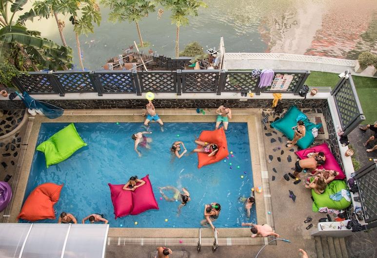 Mad Monkey Bangkok Hostel - Adults Only, Μπανγκόκ, Εξωτερική πισίνα
