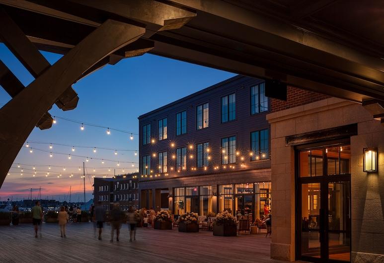 Hammetts Hotel, Newport, Terasz/udvar
