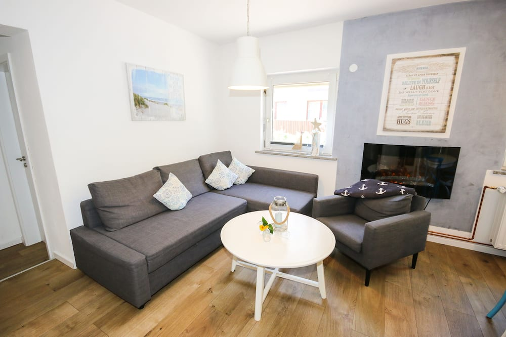 Апартаменты (Seestern inkl. Endreinigung EUR 100) - Зона гостиной