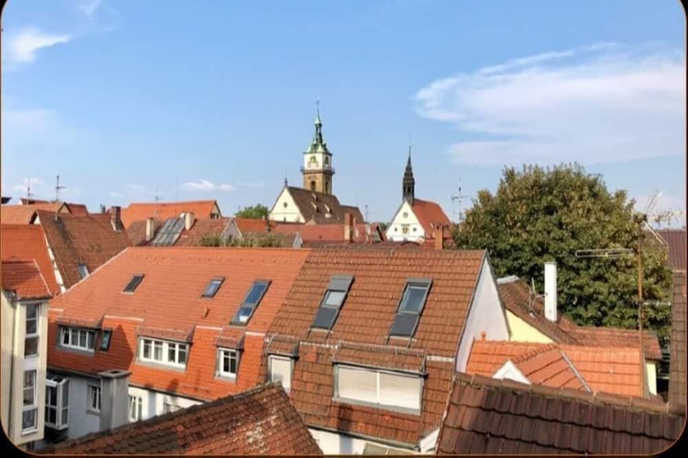 Apartment - Blick auf die Stadt