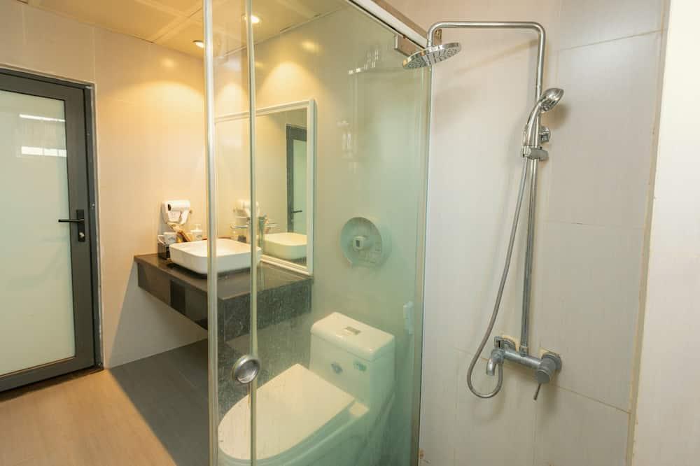 חדר דה-לוקס לארבעה - חדר רחצה