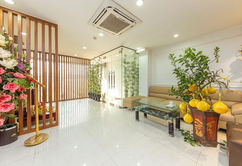 OYO 1011 Orchids 4 Hotel, Hanói, Entrada interior