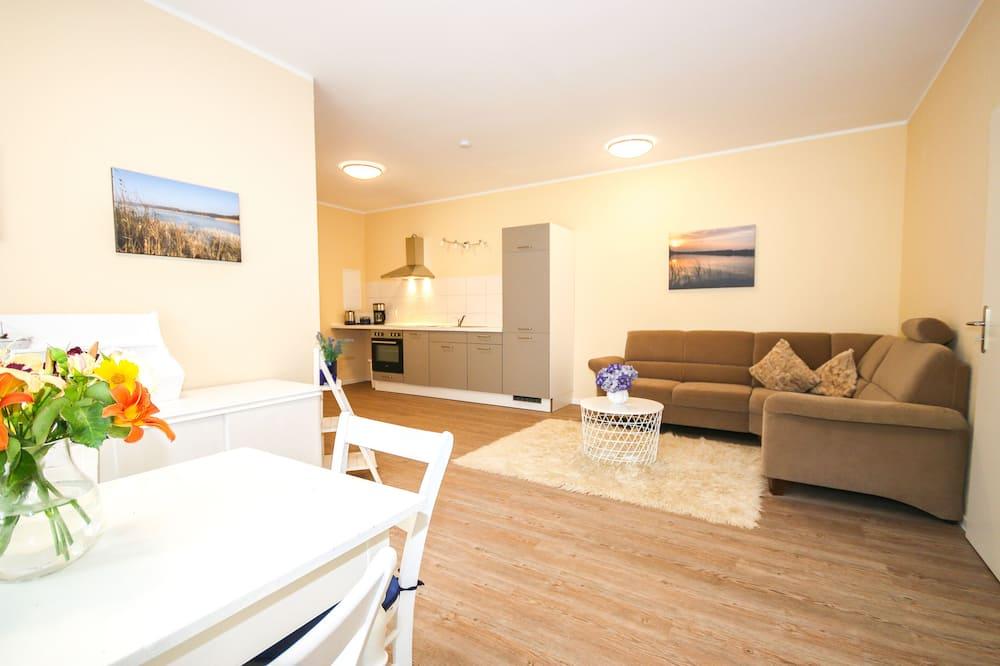 公寓 (Nordisch inkl. Endreinigung EUR 80) - 客廳