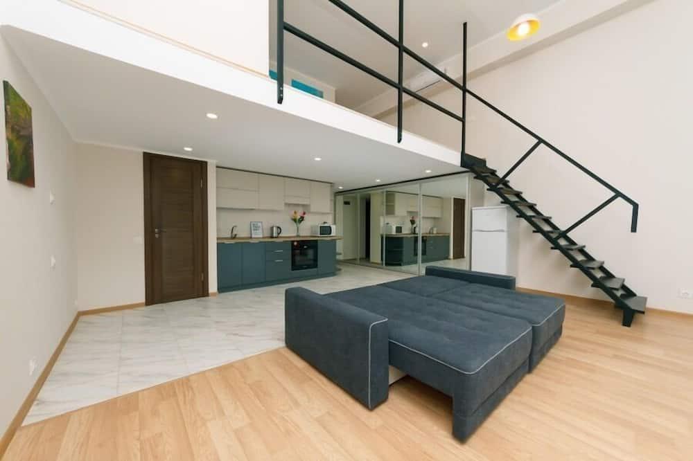 Grand-Apartment - Wohnzimmer