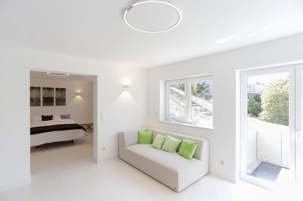 Departamento Confort, 1 cama doble, para no fumadores, cocina - Sala de estar